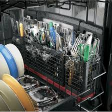 Ge Profile Performance Ge Pdt855ssjss 24 Inch Fully Integrated Dishwasher With 3rd Rack