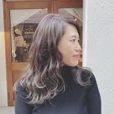 浦川 由起江さんのヘアスタイル 外国人風カラー アッシュ Tredina