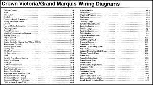 2004 crown victoria & grand marquis original wiring diagram manual 1989 ford crown victoria radio wiring diagram at 1989 Crown Victoria Wiring Diagram