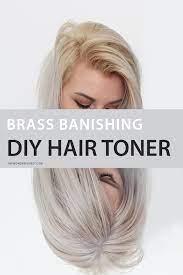 brass banishing diy hair toner for