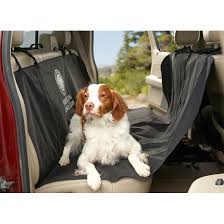 akc car seat pet cover gray
