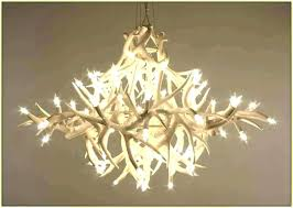 faux antler chandelier chandeliers white faux antler chandelier outstanding