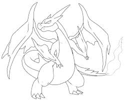 X Coloring Pages Color Colouring Printable Charizard Pokemon Card