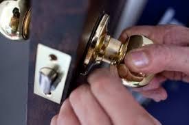 remove door knob. step 1 remove door knob