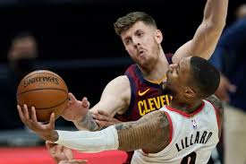 Trail Blazers rout Cavaliers 141-105 ...