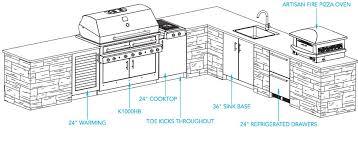 Top Impressive Ideas Outdoor Kitchen Design Plans On Home Homes Abc  Throughout Outdoor Kitchen Plans Pdf Ideas