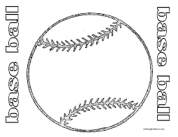 Coloring Pages Coloring Pages Baseball Free Printables Sports