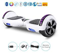 Black Hoverboard With Bluetooth And Lights White Color Hoverboard With Bluetooth Lights 6 5 Inch