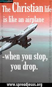 Christian Quotes About Life Beauteous CHRISTIAN QUOTES The Christian Life Is Like An Airplane