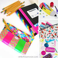 these back to school diy pencil cases are fabulous thanks for sharing