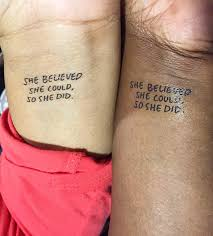 Amazoncom She Believed She Could So She Did Temporary Tattoo