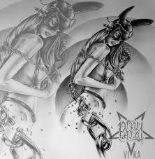 эскиз девушки в маске для тату на плече эскиз тату мастера вики