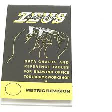 Zeus Precision Data Charts And Reference Tables Book