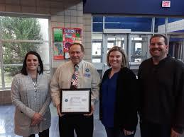 Assistant principal receives patriot award   Schools   mycouriertribune.com