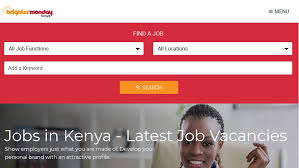 Good Sites To Look For Jobs Best Websites To Look For A Job In Kenya Career Search