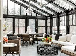 conservatory lighting ideas. Conservatory Design. Dramatic And Chic Conservatory. Lighting Are The Globus Pendants From Urban Electric Ideas