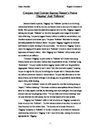 seamus heaney imagery essay research paper service seamus heaney imagery essay
