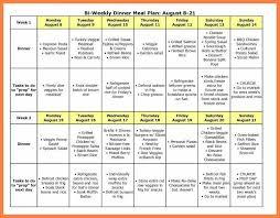 9 Free Online Weekly Meal Planner Andrew Gunsberg