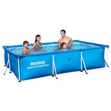Zwembad Frame Pool Set Rechthoek 300