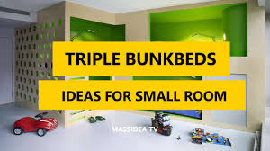 35+ Best Triple Bunk Beds Designs Ideas for Small Room 2017 - YouTube