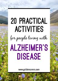 For another, it won't reverse the effects of dementia or mild cognitive impairment. 20 Practical Activities For People Living With Alzheimer S Disease