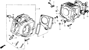honda z50 engine diagram honda wiring diagrams