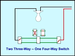 one light two switches wiring diagram how to wire two switches to