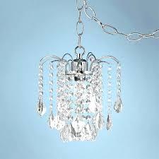 plug in chandelier light plug in crystal chandelier lighting with regard to plans 7 chandelier plug