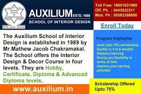 Interior Decor Course Dehradun Auxilium School Ph 0938389