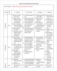 Rubric Template Microsoft Word Rubric Template 47 Free Word Excel Pdf Format Free