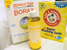 homemade laundry soap using liquid castile soap