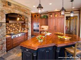 Cabin Remodeling Cabinet Finishes And Colors Before Kitchen