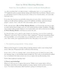 How To Write Meeting Minutes How Meeting Minutes Template Document How To Take Minutes