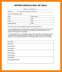 bill of sale letter 3 bill of sale template for car informal letter
