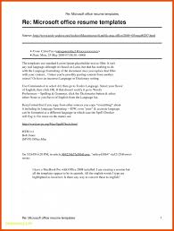 Resume Templates Microsoft Word 2010 New Resume Template Microsoft