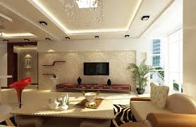 ... Redecorating Ideas For Living Room Best Design Cream Ornamental  Wallpaper Potted Plants Ceiling Lighting Synthetic Seat ...