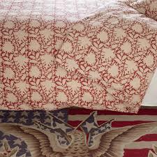 rebecca red duvet cover