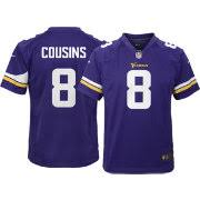 Minnesota Jersey Cousins Kirk 8 Nike Home Game Youth Vikings|Emotional Help Dog Helps San Francisco 49ers