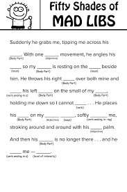 fifty shades of grey mad libs you can your mother mad libs 50 1