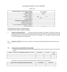 business quarterly report template contract closure template software test closure report template 9