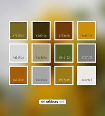 Light Goldenrod Color Crete Brown Beige Light Steel Blue Color Palette Colors