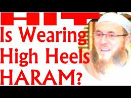 2016 is wearing high heels haram