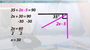 solving equations with angle relationships lesson transcript study com