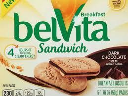 belvita sandwich dark chocolate creme breakfast biscuits