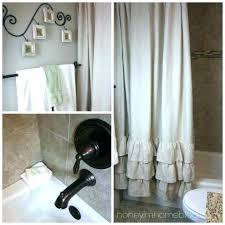 ticking stripe shower curtain pott barn red ticking stripe shower curtain curtains bathroom crate and barrel ticking stripe shower curtain