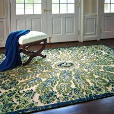 unique frontgate area rugs peacock rug are great for