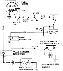 cj fuel sending unit ground wire electric pump fuel pump full size image