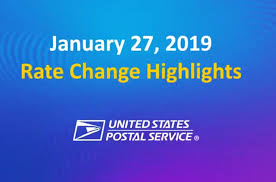 United States Postal Service Rate Chart 55 True To Life Current Postal Rates Chart 2019