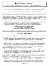 Facility Manager Resume Igniteresumes Com
