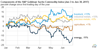 Energy Commodity Prices Declined More Than Other Commodities